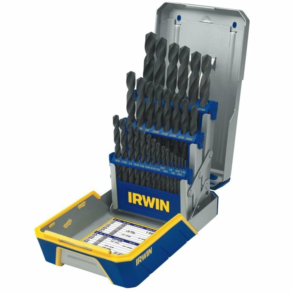 29 Piece|Huot Index Case Neiko Pro 10132B Cobalt Drill Bit Set
