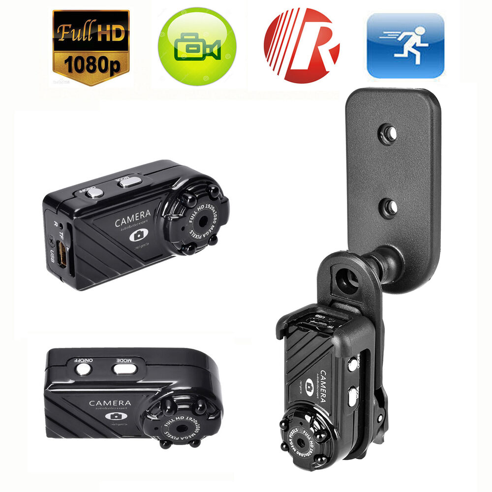 mini full hd 1080p 12mp night vision spy hidden video recorder camera cam dvr dv ebay. Black Bedroom Furniture Sets. Home Design Ideas