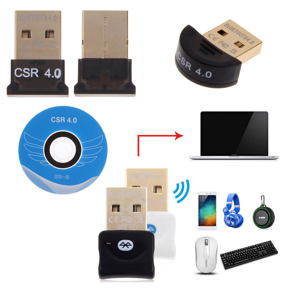 mini usb bluetooth 4 0 dongle wireless adapter for pc. Black Bedroom Furniture Sets. Home Design Ideas