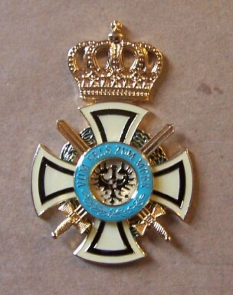 German prussian kingdom empire hohenzollern merit medal for House of dynasty order online