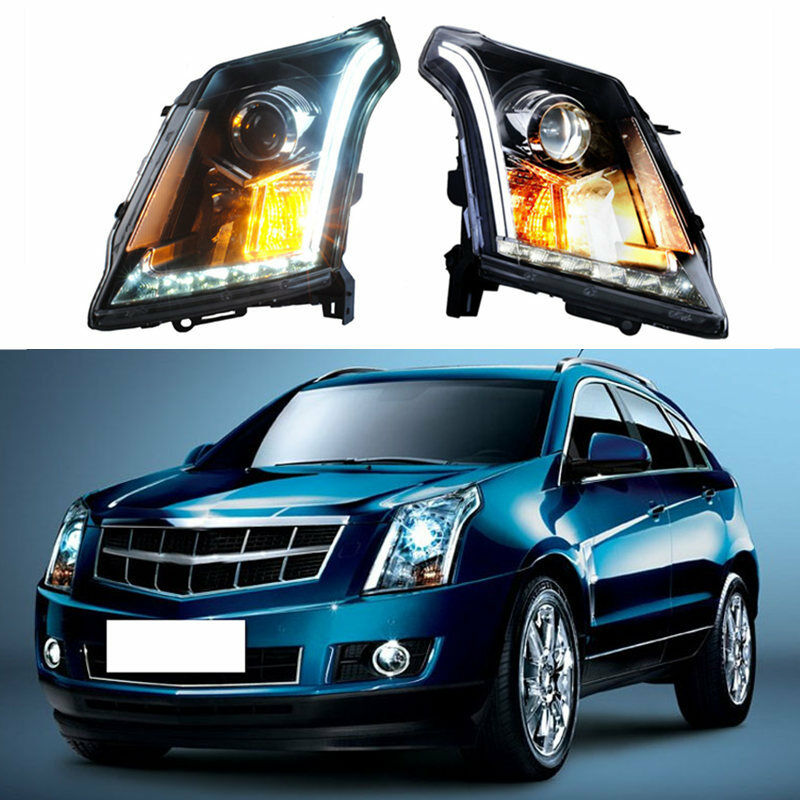 For Cadillac SRX 2010-2015 Assembly Composite Headlight