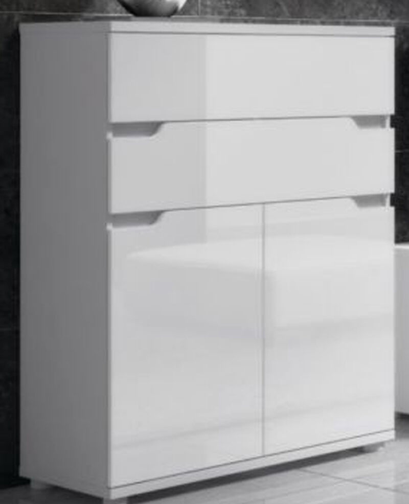 lounge gloss white sideboard office furniture cabinet