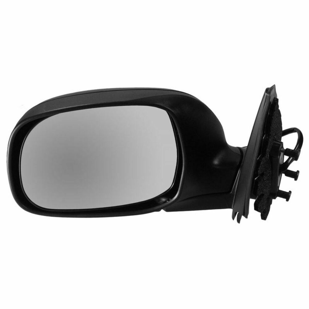 Folding Power Mirror Black Driver Side Lh Left For Toyota