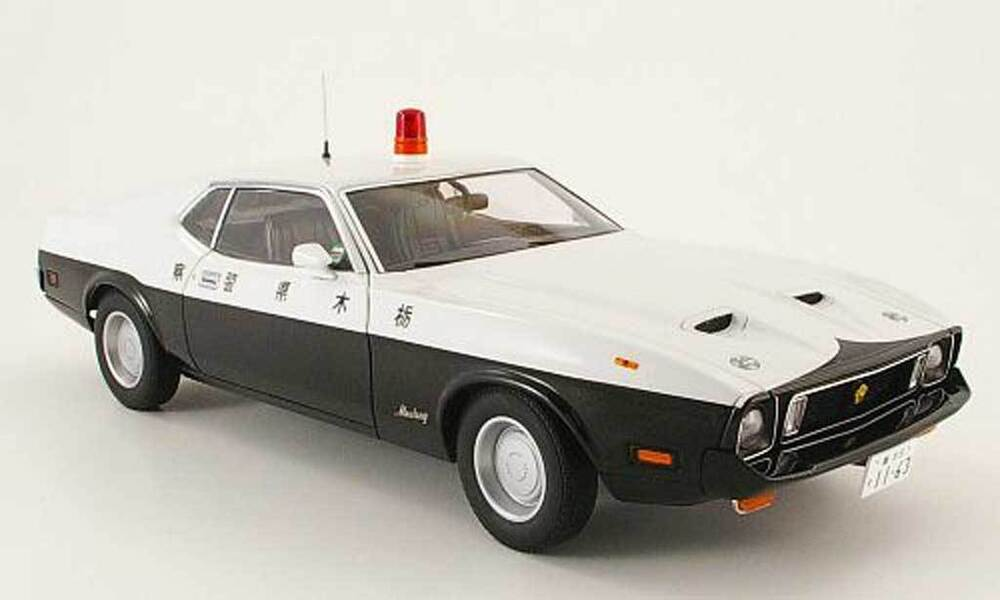 Selling My Jeep >> AutoArt FORD MUSTANG MACH I JAPANESE POLICE CAR 1:18* In Stock Last One!!   eBay
