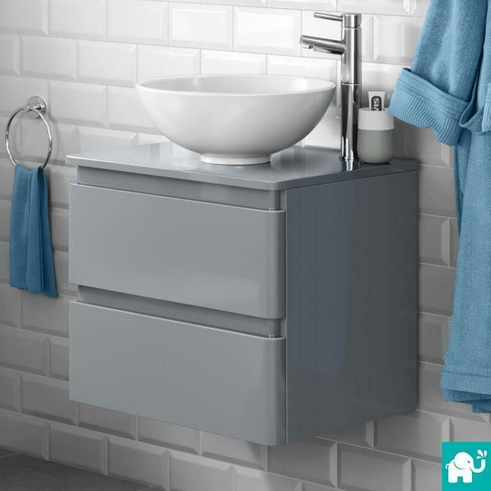 wall mounted bathroom cabinets modern modern wall mounted grey bathroom vanity unit countertop 24536