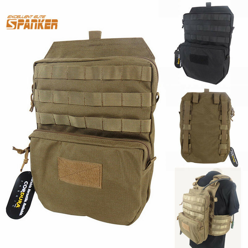 Tactical Airsoft MOLLE 3L Hydration Water Reservoir ...