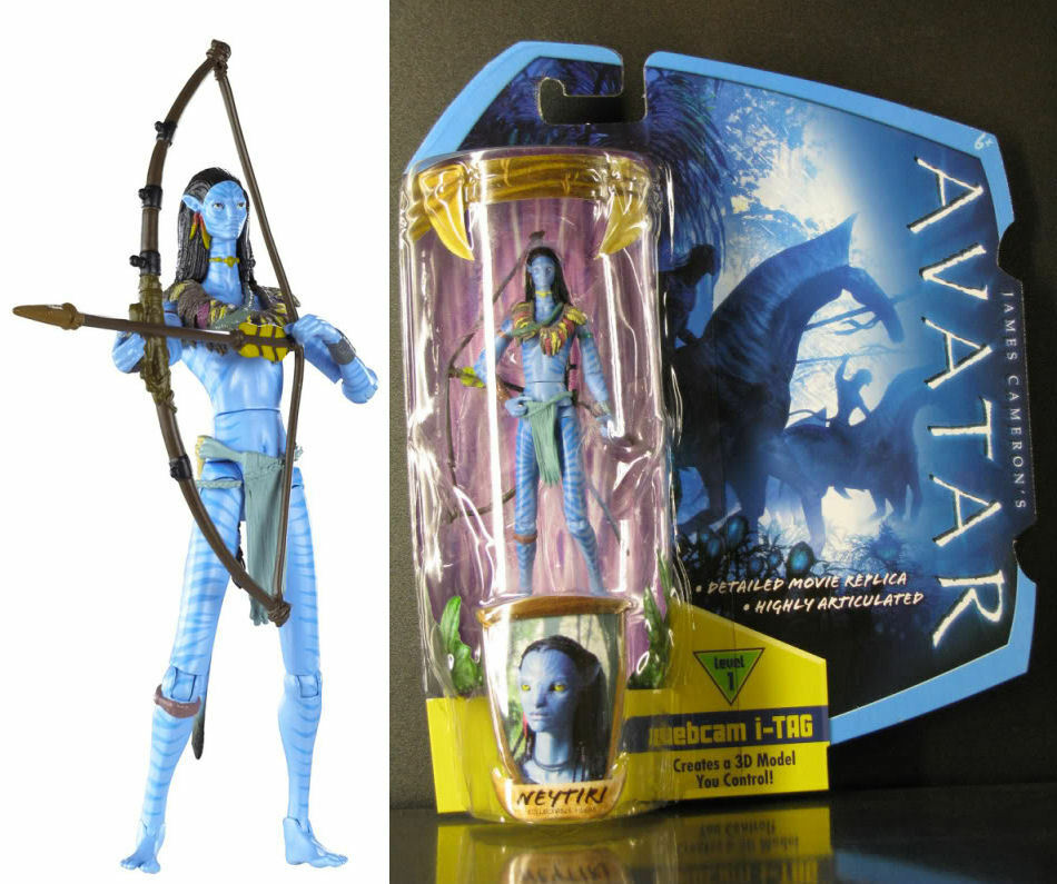 "James Cameron's Avatar Movie Toy Neytiri 4"" Action Figure"