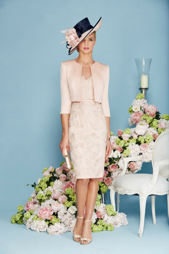 Of the bride lace outfit free jacket evening gown formal dress ebay