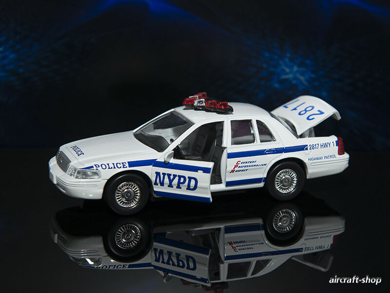 new york nypd police ford crown victoria 1 43 ebay. Black Bedroom Furniture Sets. Home Design Ideas