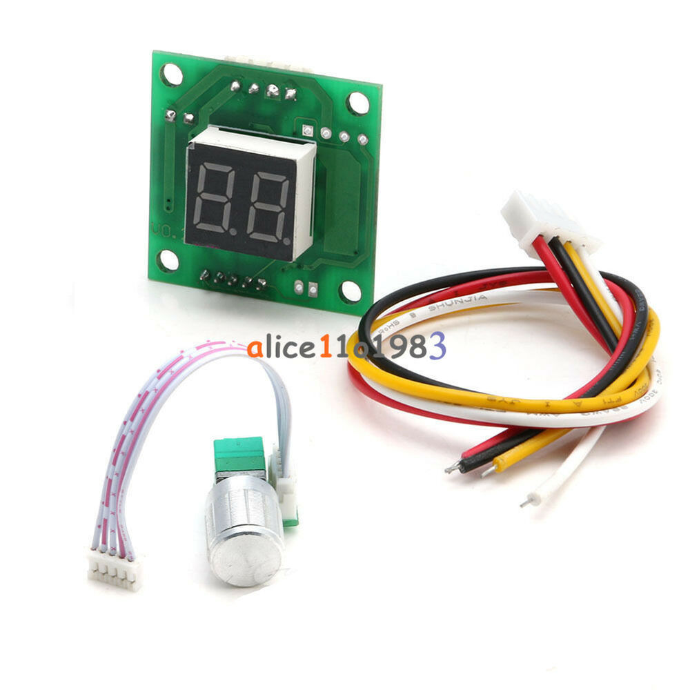 Dc 6 28v motor speed control controller pwm adjust speed for Digital dc motor speed control