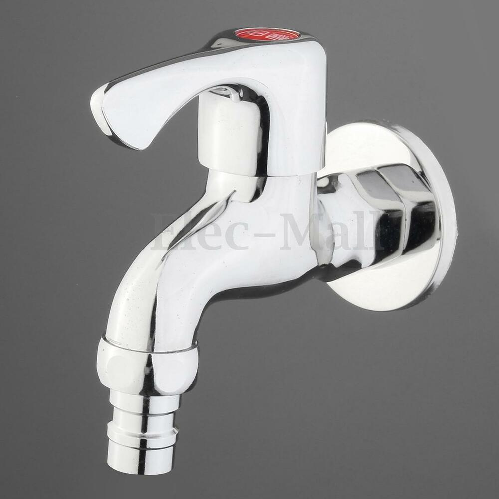 7 Faucet Finishes For Fabulous Bathrooms: Wall Mount Tap Garden Washing Machine Water Brass Faucet