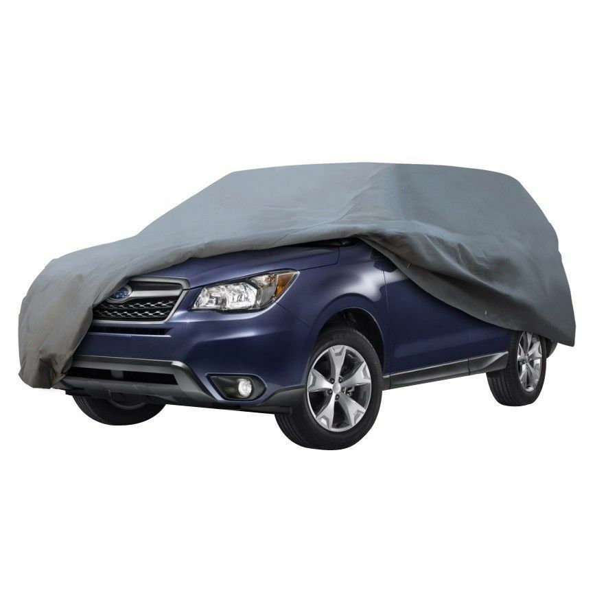 suv van cover water snow rain dust proof 3 layer car cover. Black Bedroom Furniture Sets. Home Design Ideas