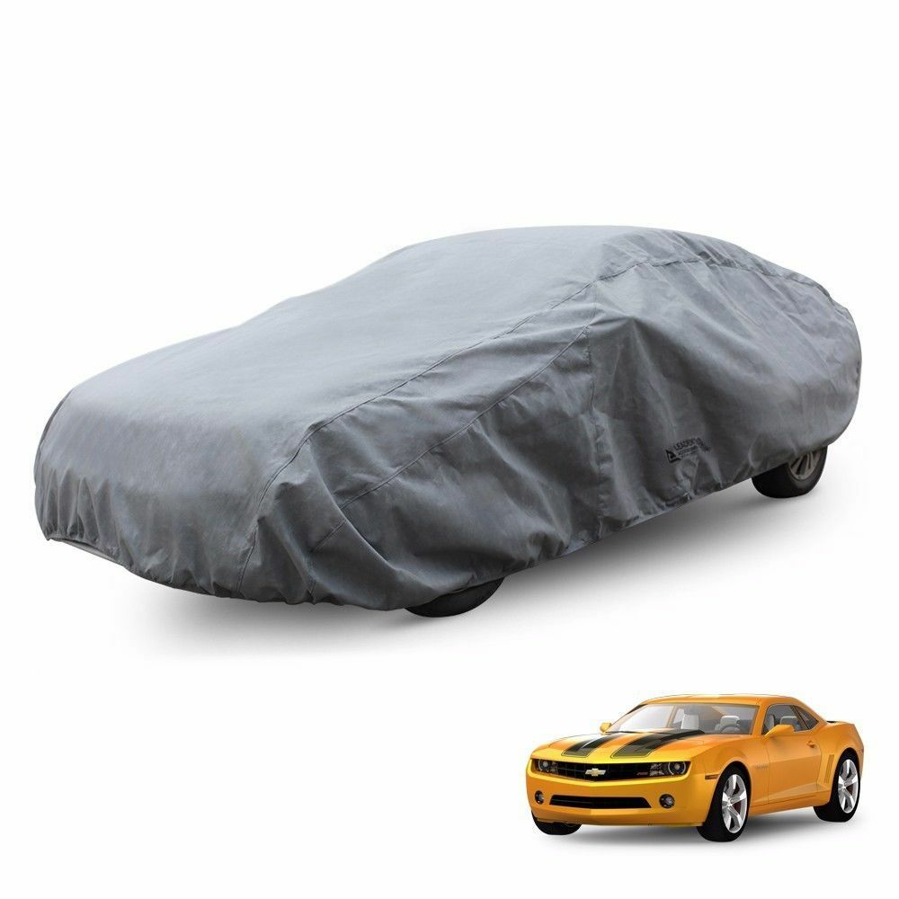 Waterproof Outdoor Car Cover Fit Chevy Camaro 2010-2015