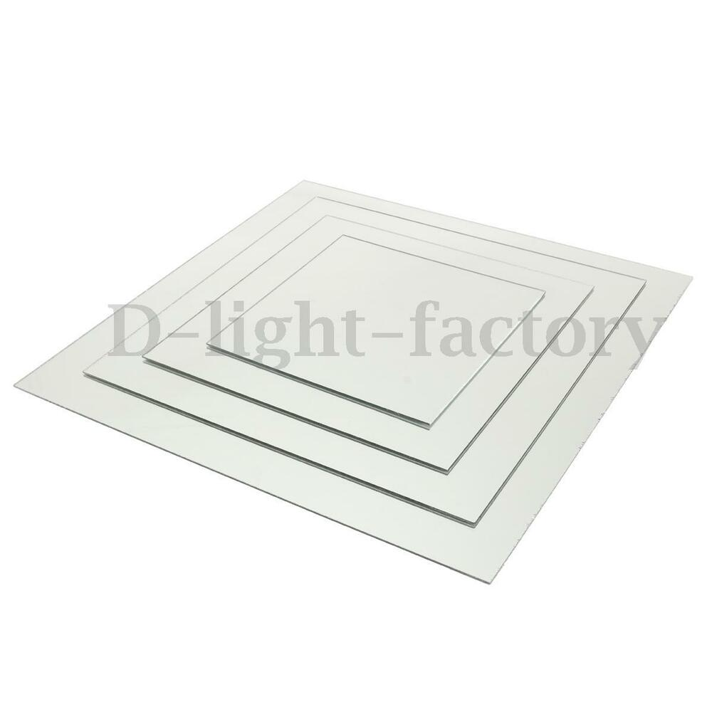 3mm Clear Acrylic Perspex Sheet Plastic Material Panel