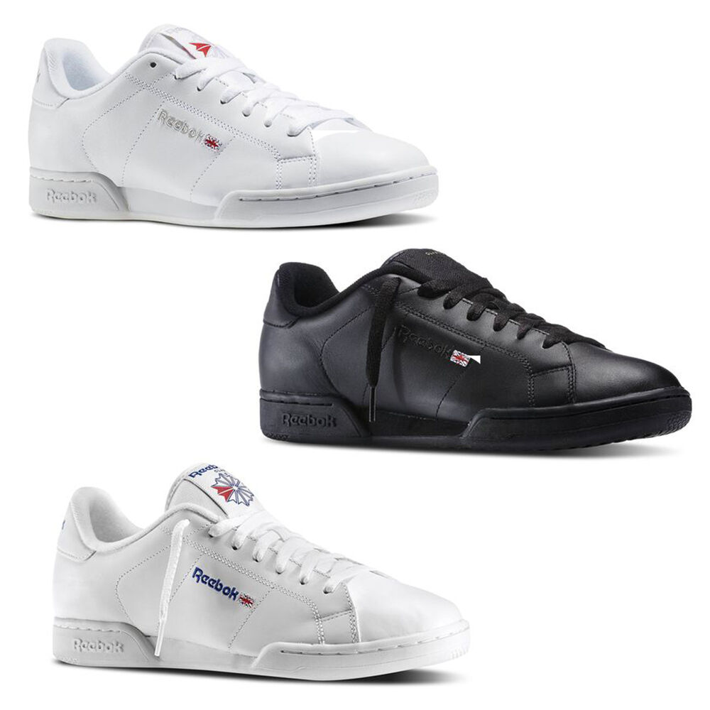 reebok classic leather npc ii mens shoe new 3 colors several sizes narrow ebay. Black Bedroom Furniture Sets. Home Design Ideas