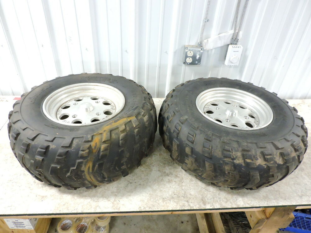 08 Can Am Canam Atv 800 Renegade Rear Back Wheels Rims And