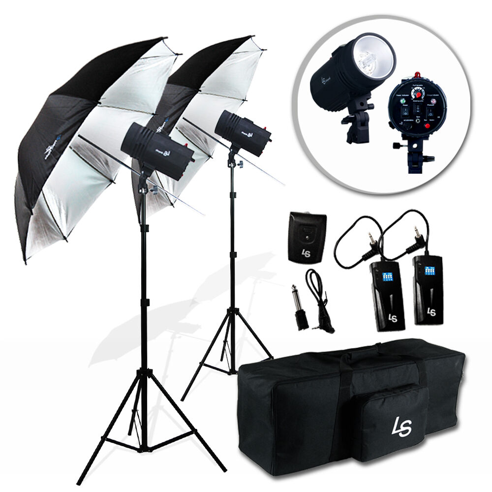 Optex Photo Studio Lighting Kit Review: Photography Studio Photo Flash Kit 2 X 400W Strobe Light