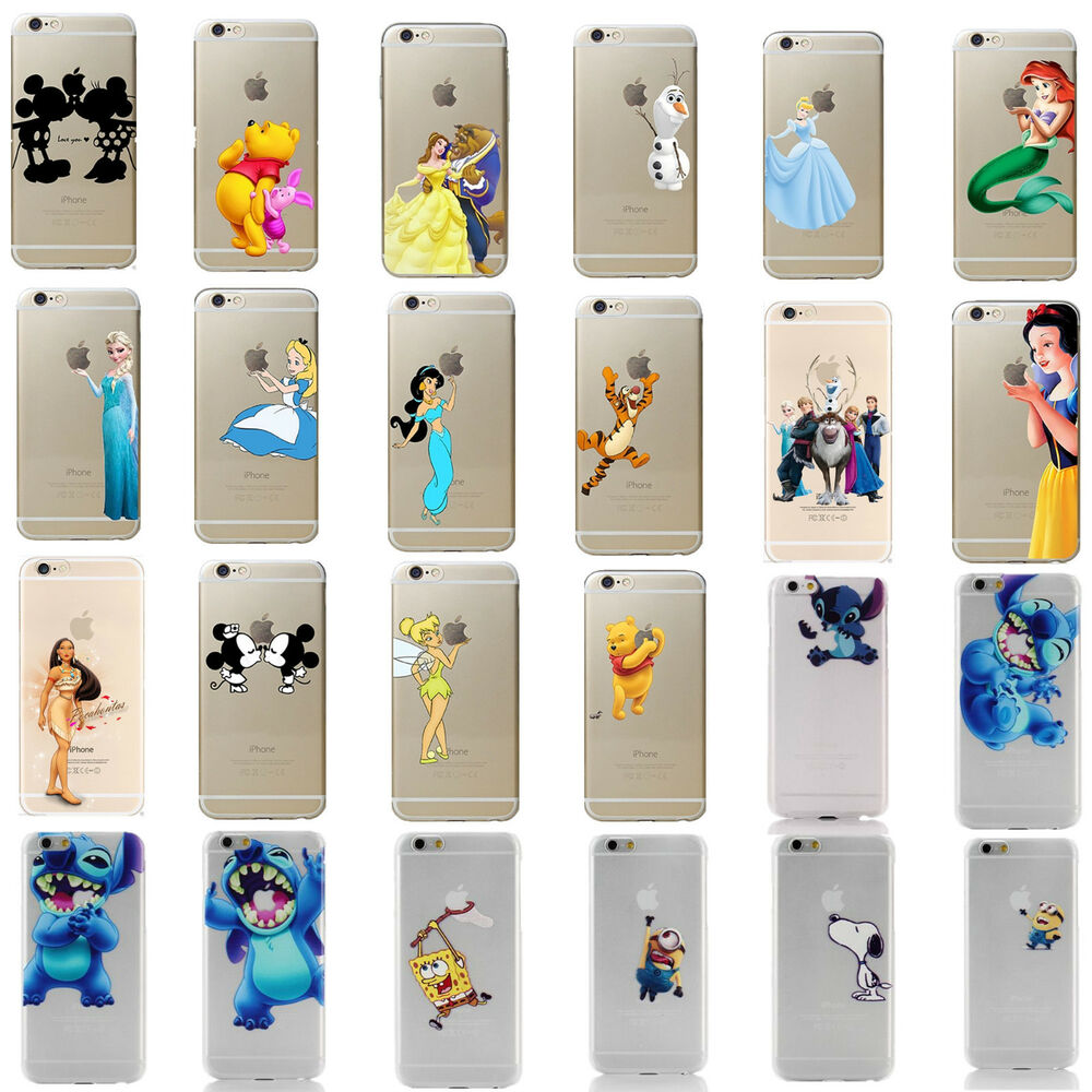 Kids Birthday Present Disney All Characters Clear Cover ...