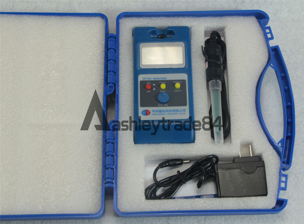 Magnetic Field Tester : New lcd tesla meter wt a gaussmeter surface magnetic