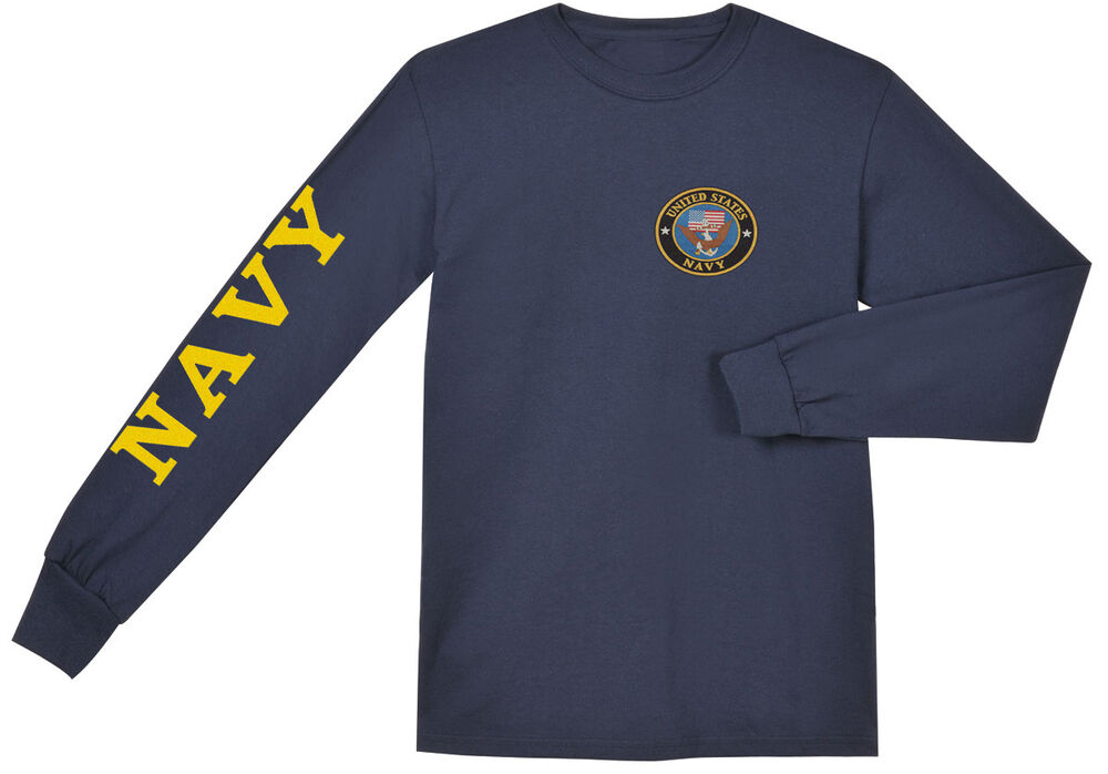 Our selection of popular US Navy shirts includes long-sleeve, short-sleeve, and sleeveless T shirt options so you can comfortably showcase your military pride during all weather conditions and across all .