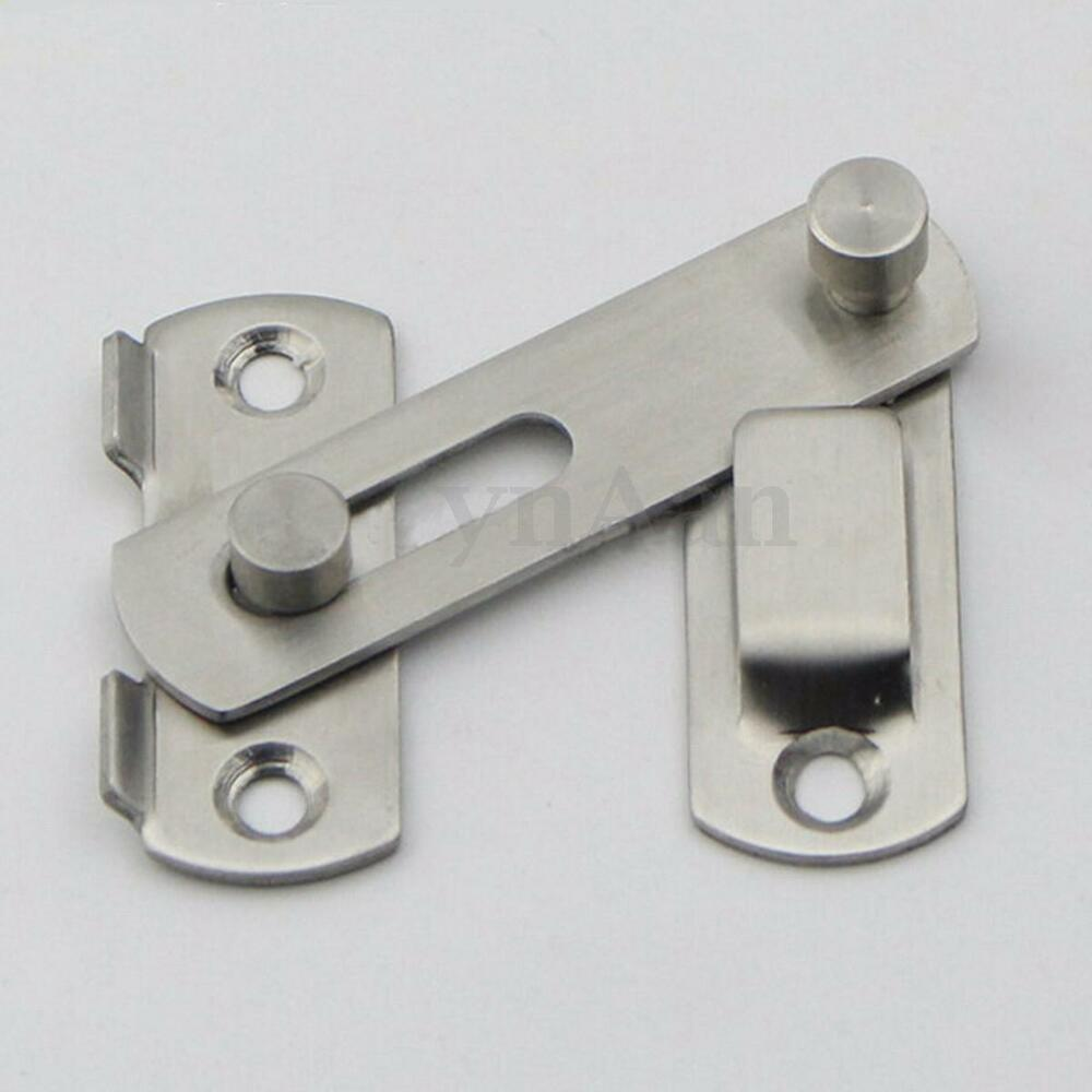 Stainless Steel Door Bolt Latch Slide Catch Lock Home