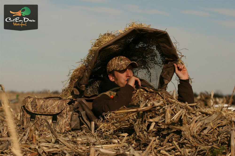 Avery Ghg Power Hunter Layout Hunting Ground Blind Shadow
