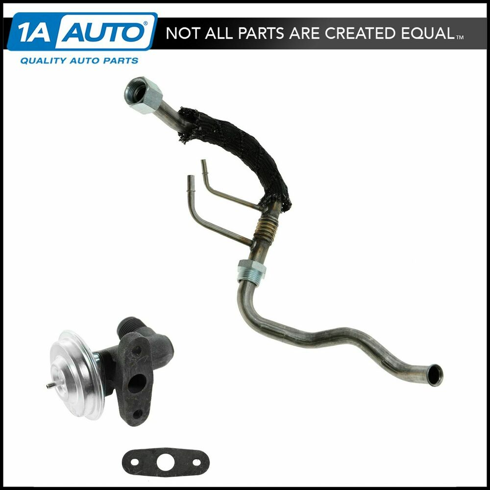 Emissions egr tube and valve for ford truck