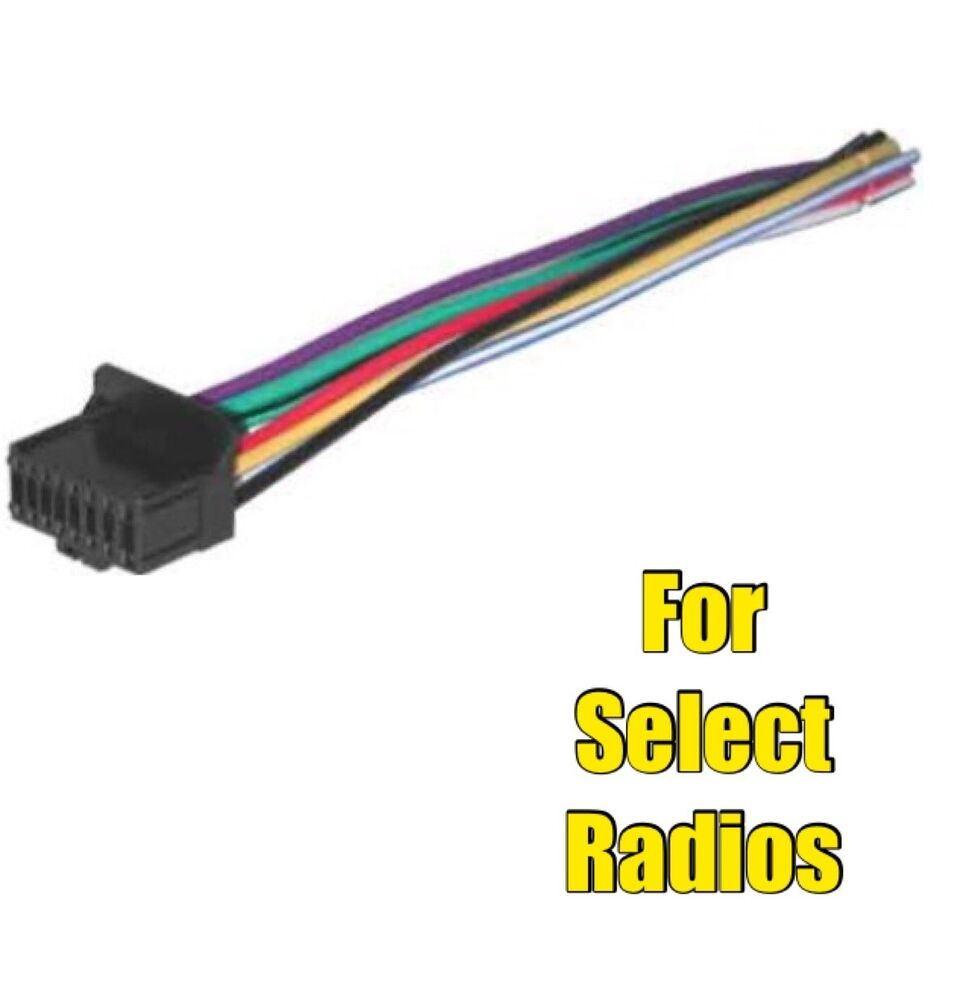 Car Stereo Radio Wire Harness For Select Pioneer Or