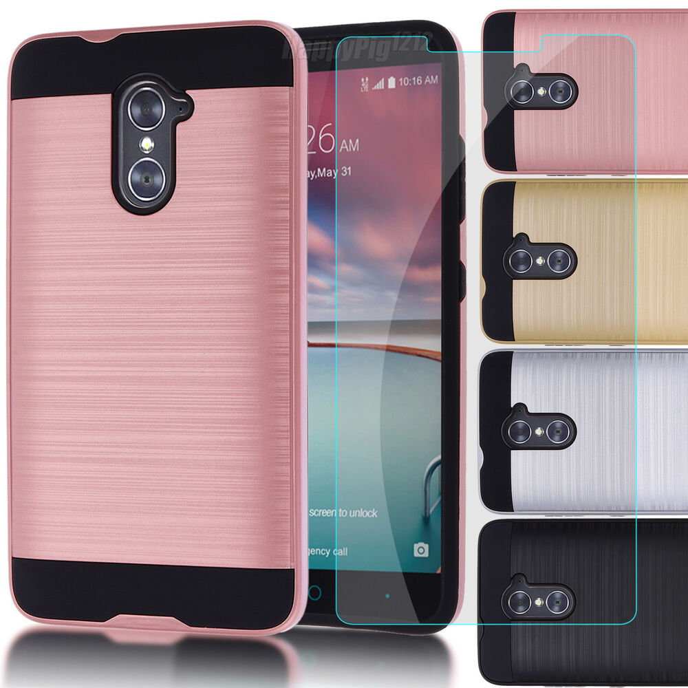 have zte zmax pro case girl for