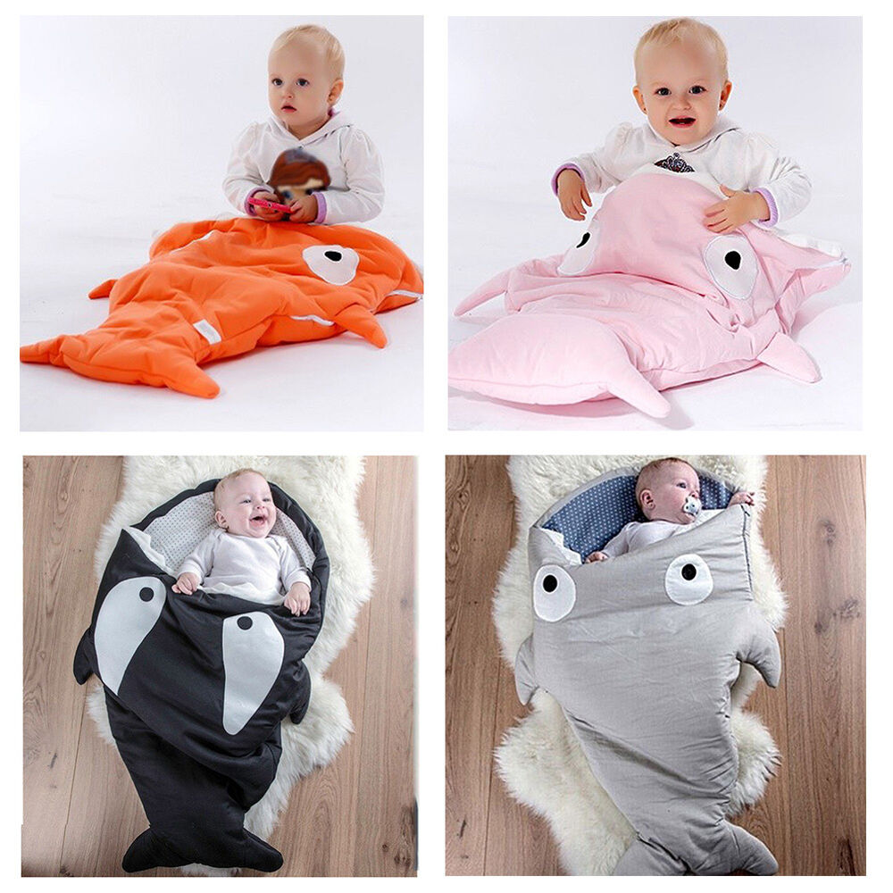 baby kinder mini haifisch schlafsack fu sack f r kinderwagen 1 3 jahre sleep bag ebay. Black Bedroom Furniture Sets. Home Design Ideas