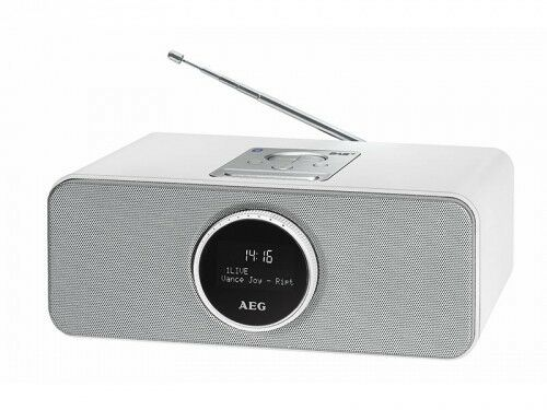 stereoanlage dab radio mit bluetooth usb und aux in aeg. Black Bedroom Furniture Sets. Home Design Ideas