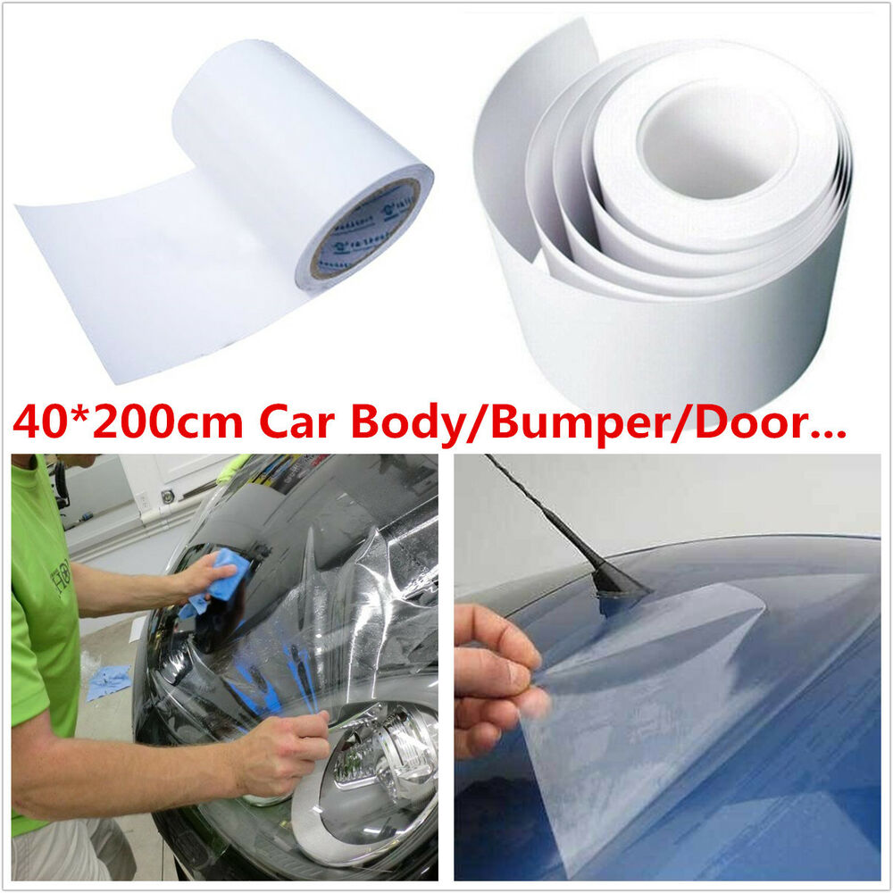 car body paint protection anti scratch anti static clear film vinyl sheet 40 200 ebay. Black Bedroom Furniture Sets. Home Design Ideas