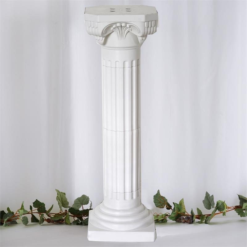 Empire roman decorative wedding 36 tall columns 4pcs for Decorative columns