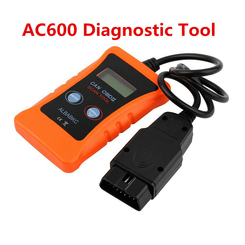 Portable OBD2 OBDII AC600 ELM327 Car Fault Diagnostic