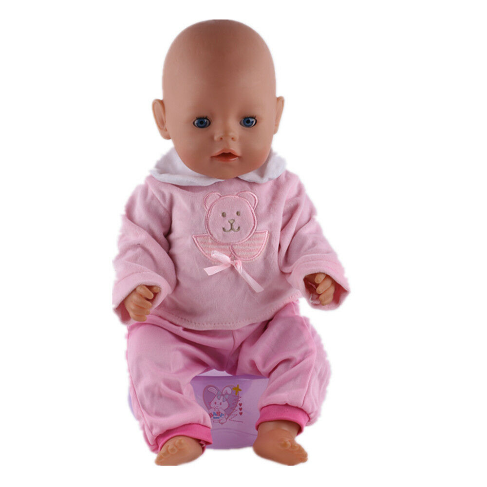 New 1set Doll Clothes Wearfor 43cm Baby Born zapf only