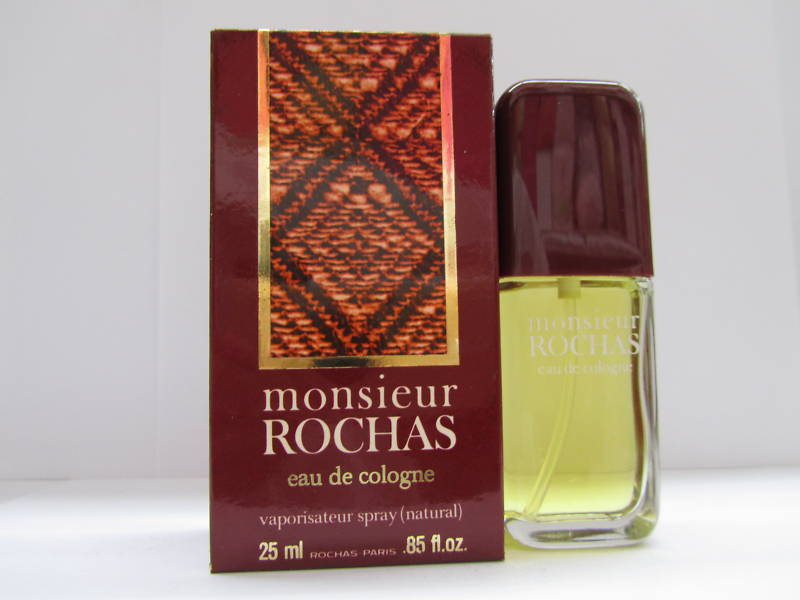 rochas monsieur by rochas oz men eau de cologne spray. Black Bedroom Furniture Sets. Home Design Ideas