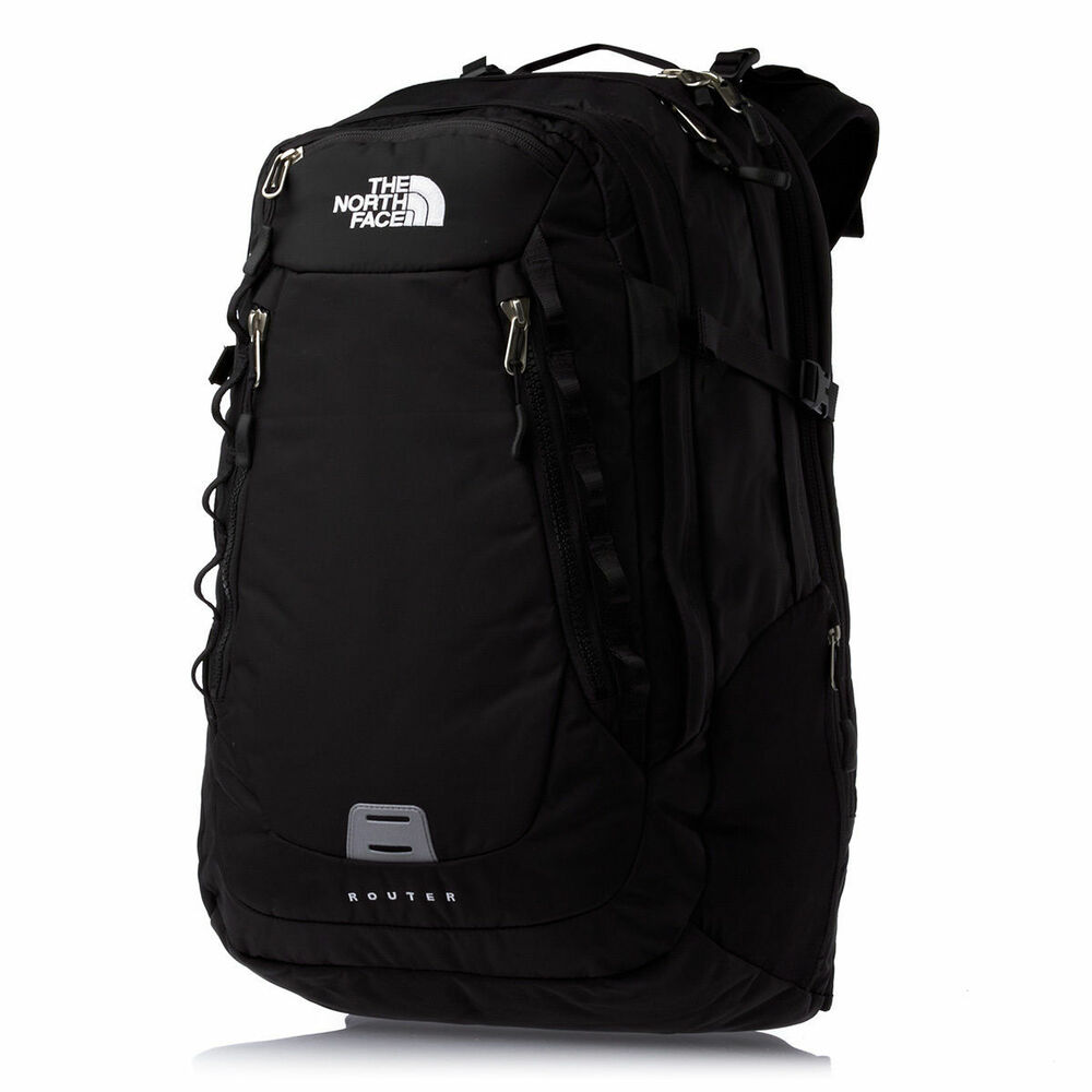Router Backpack: New The North Face Router Backpack Laptop Approved Black