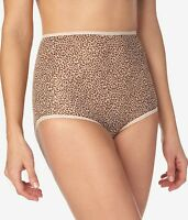New! Bali Cheetah Skimp Skamp Brief Full Coverage Panties Large (7) #2633