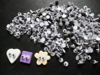 100 pcs -  4 mm Wiggly Moving Eyes for dolls part findings