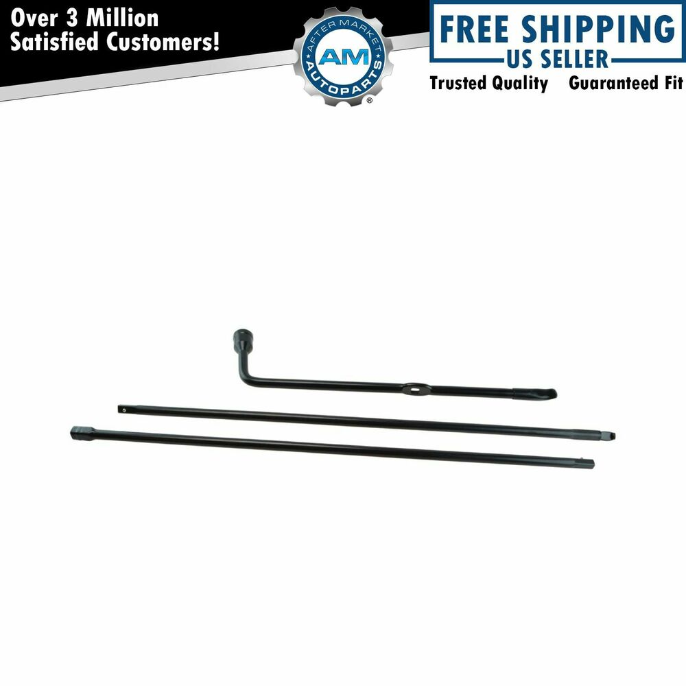 dorman spare tire lug wrench  u0026 jack tool kit for ford
