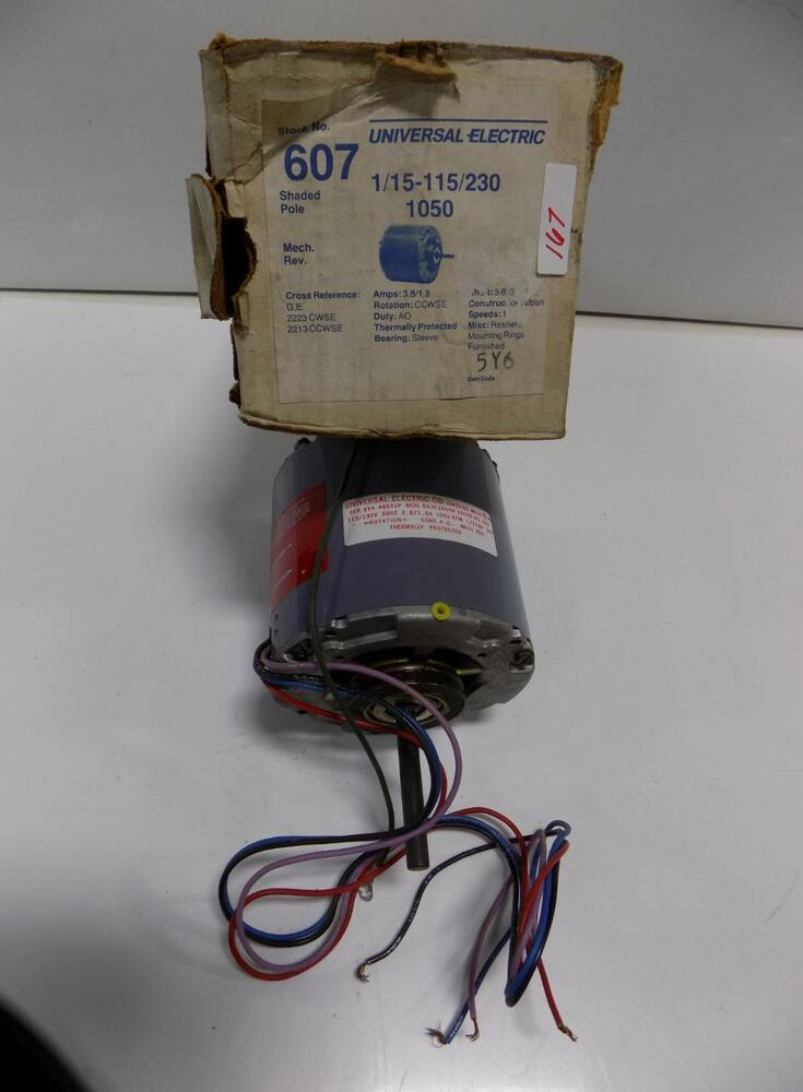 Magnetek universal electric motor 1 15 115 230 nib ebay for Magnetek motors cross reference
