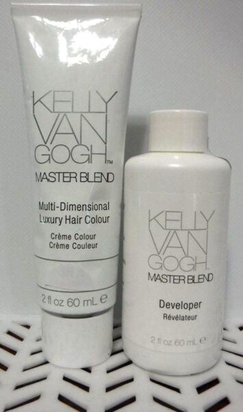 2 PC Combo Kelly Van Gogh MASTERBLEND Hair Color 1- 5R & 1 DEVELOPER