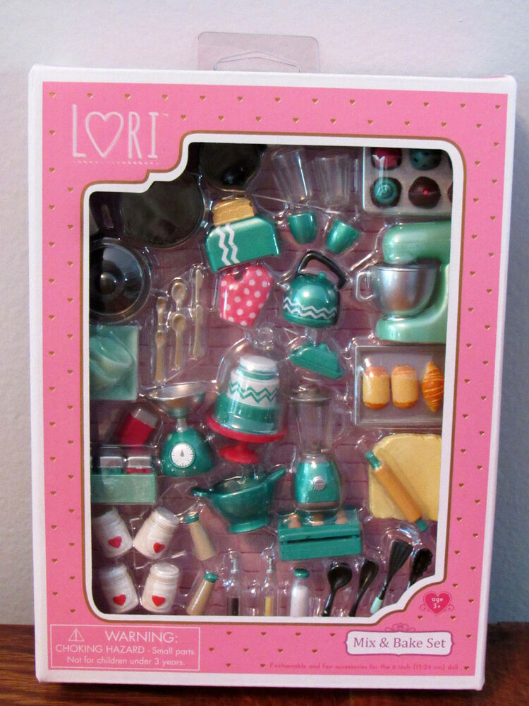 Lovee Doll Amp Toy Co : Lori doll baking miniature furniture mix bake set