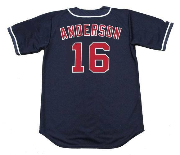 1179b8c75 GARRET ANDERSON California Angels 1996 Majestic Throwback Baseball Jersey