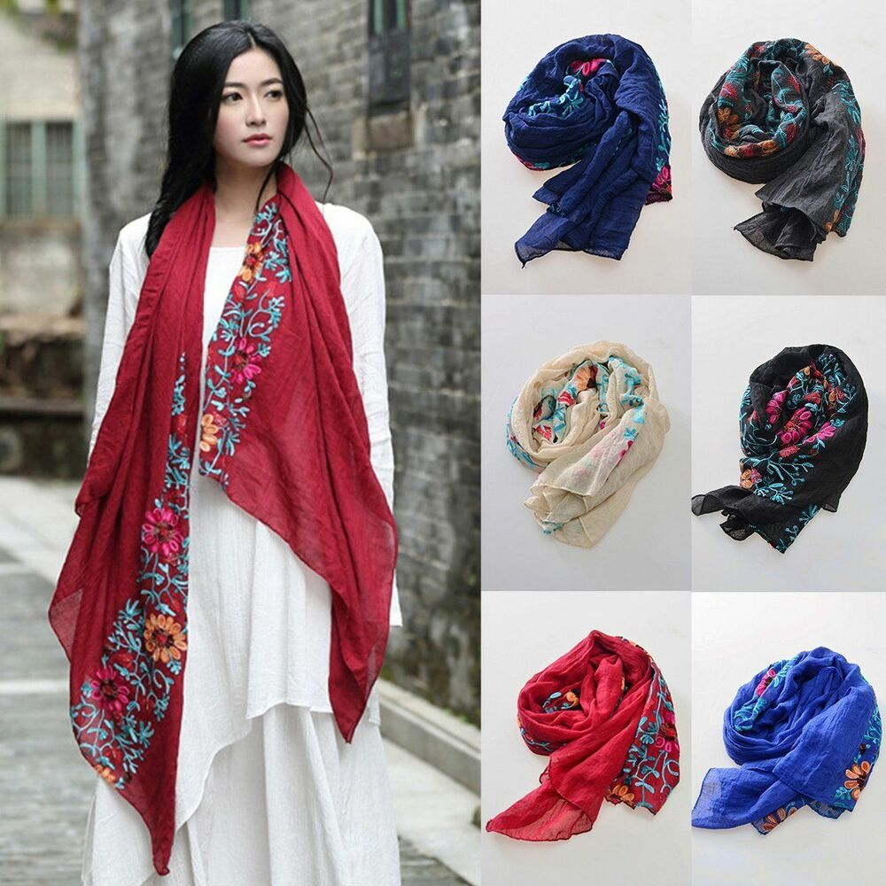 how to wear a large scarf wrap