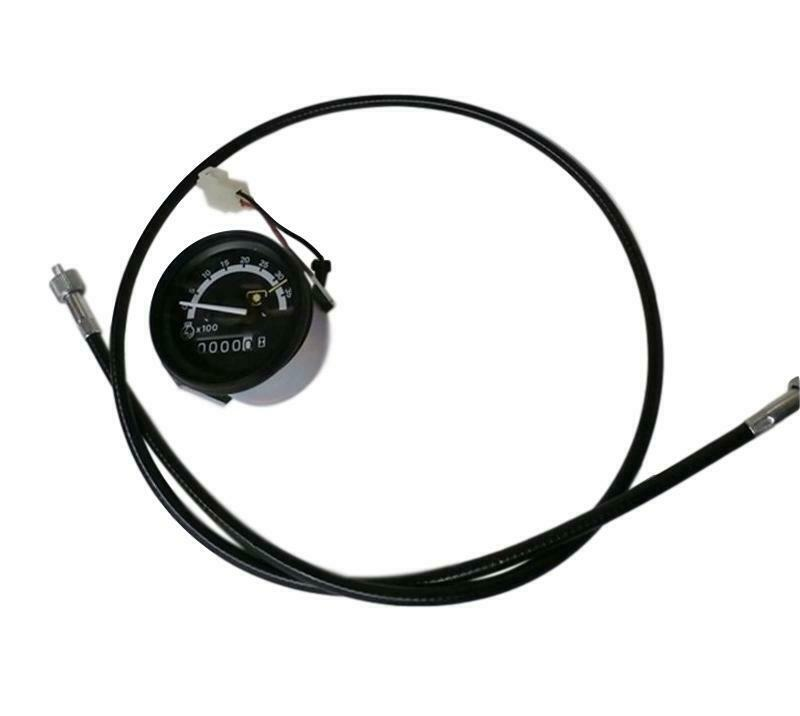 John Deere Tachometer And Cable Am102034  Am875587 655 755