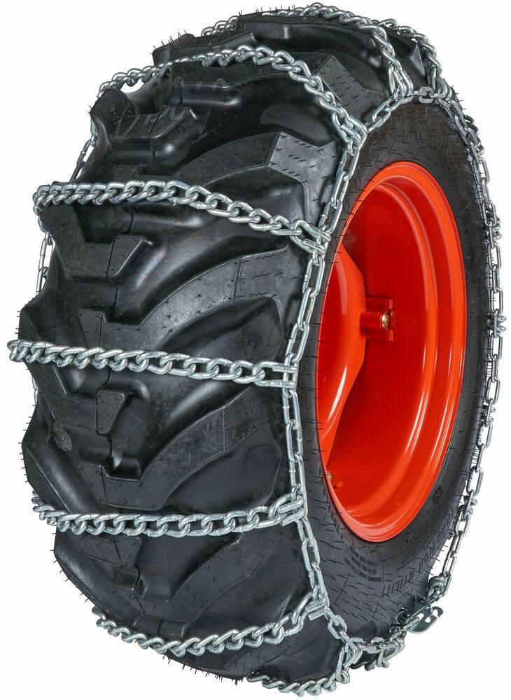quality chain 0838 10mm field master link tractor tire chains snow traction ebay. Black Bedroom Furniture Sets. Home Design Ideas