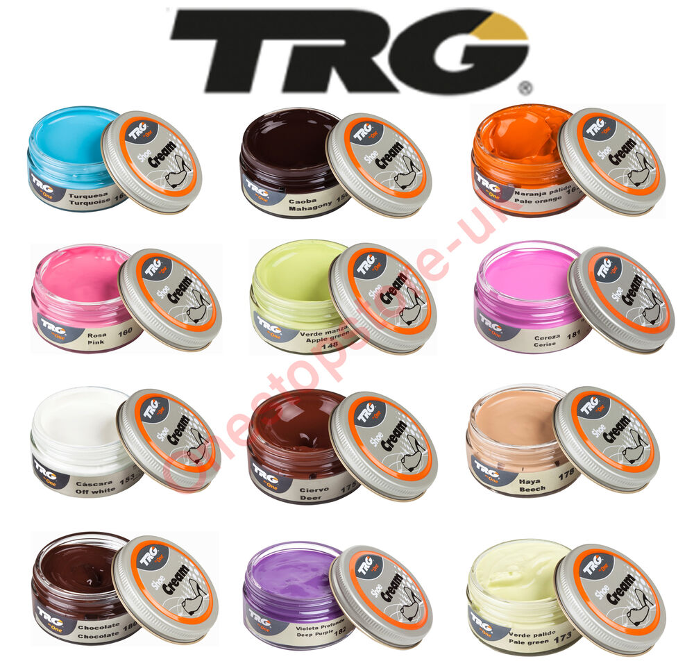Trg Shoe Cream Polish 50ml Jars For Leather Shoes Boots