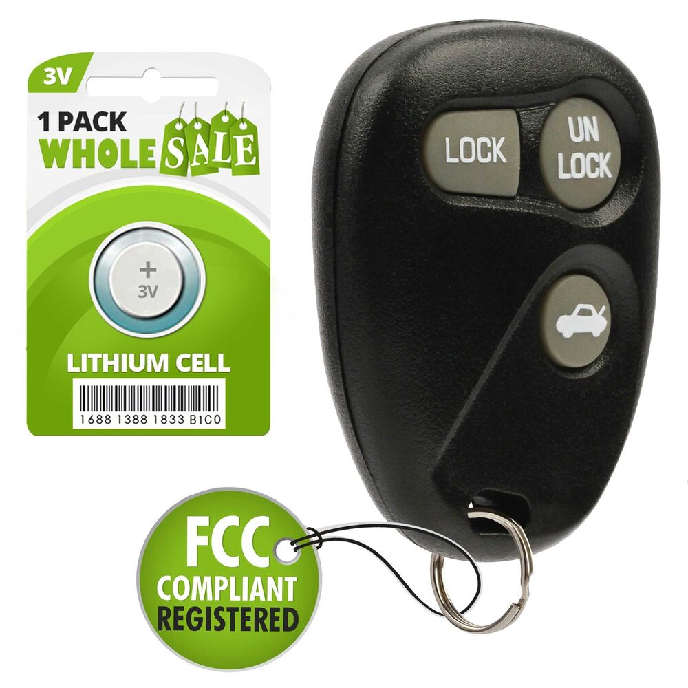 Replacement For 1996 1997 1998 1999 2000 2001 Chevy Lumina Key Fob Control Ebay
