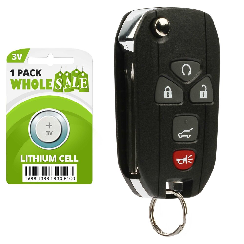 replacement for 2009 2010 2011 2012 2013 2014 2015 chevy traverse flip key fob ebay. Black Bedroom Furniture Sets. Home Design Ideas